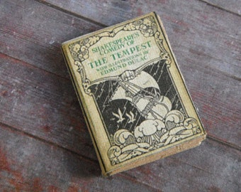Miniature Book --- The Tempest