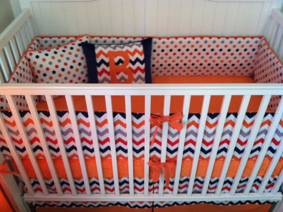 Modern Dot Bedding Dot Crib Bedding ◅ ▻