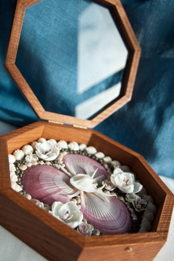 CUSTOM Sailors Valentine Made With Genuine Seashells