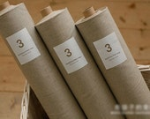 Cotton Linen for Craft Homeware Zakka Natural Ecru 1 Yard