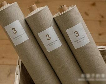 Cotton Linen for Craft Homeware Zakka Natural Ecru 1 Yard
