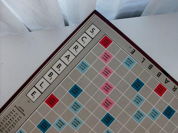 Scrabble Game Board for Repurposing