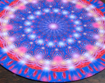 Rainbow Delight Mandala Altar Cloth