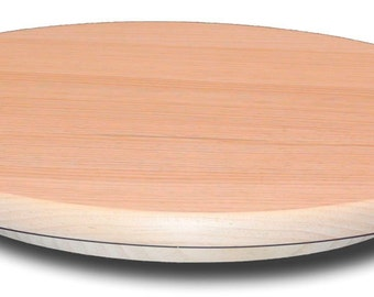 Pine Lazy Susan 20 Inch Diameter Wooden Turntable Sugar Pine Unfinished  Furniture