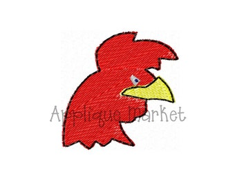 Machine Embroidery Design Rooster Mini