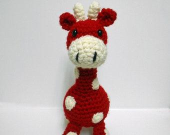 Crochet Baby Giraffe Pattern