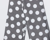 DSLR Camera Strap Cover- lens cap pocket and padding included- Charcoal Dot