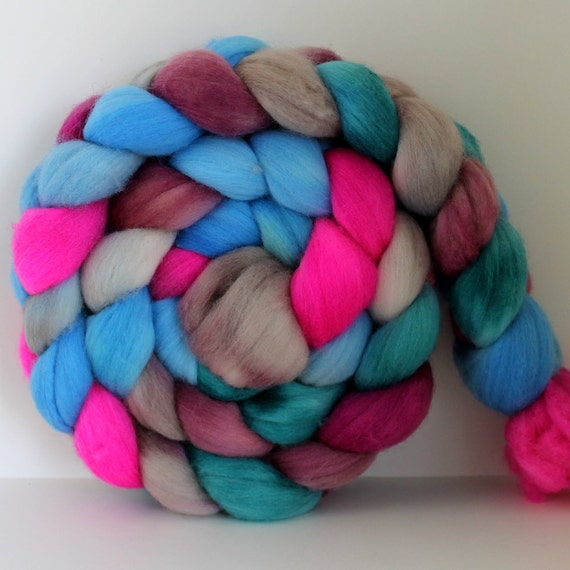 PLAYTIME -  Merino Wool Top Roving 4oz