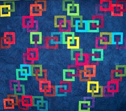 Galena Interlocking Squares Quilt Pattern