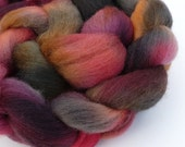 Falkland Wool Top - Midnight Coals - 4 oz.