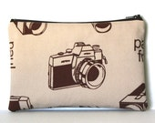 Vintage Camera Pouch
