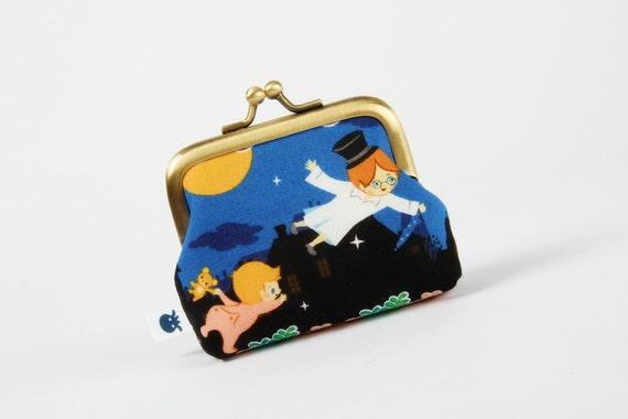 Deep mum - Let's fly - metal frame purse