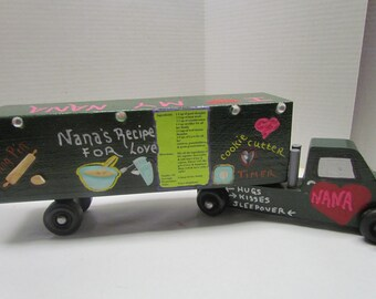 I love my Nana Wooden Truck