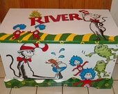 Reserved listing for Custom Dr. Seuss Toy Box
