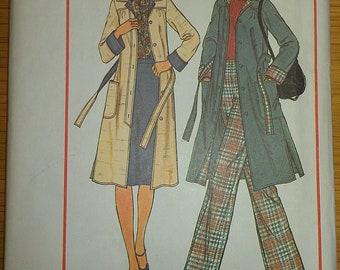 1970s Jacket Skirt Pants Simplicity 7668 14 16