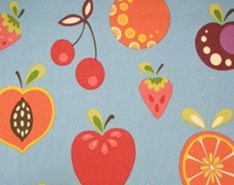 Tutty Fruity in Chambray Home Decor Fabric by Alexander Henry - 1 Yard