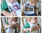 Snap add-on for personalized baby bib by Tried and True Designs