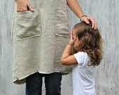 Pinafore Apron with pockets