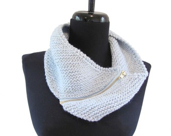 Custom - Zippered Cowl