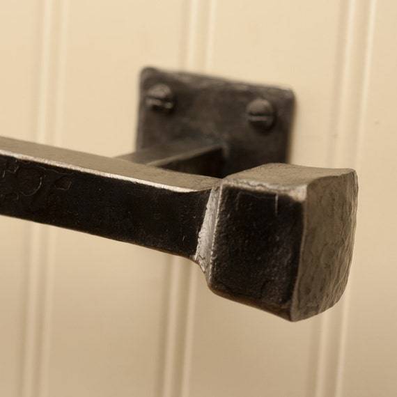 24 Frithia Towel Bar Hand Forged Iron