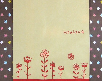 Healing Paper Bags - Red