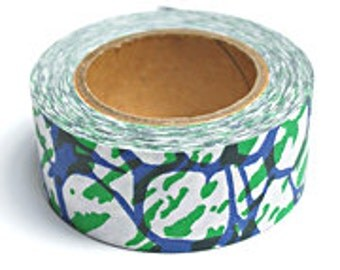 Marble Craft Paper Tape - Blue & Green
