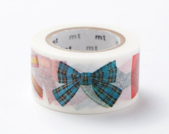 mt ex Washi Masking Tape - Ribbon Bows