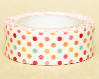 NamiNami Washi Masking Tape - Colourful Dots