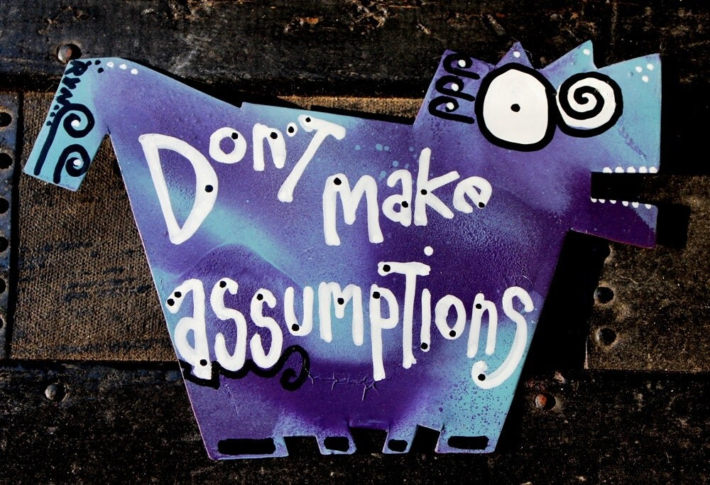 Refrigerator Magnet Godmother Godparent Quote Pink: Favorite Quote Magnets: Don't Make Assumptions No. 3 Of