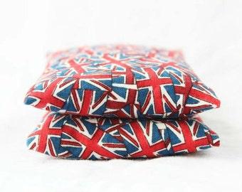 Union Jack Lavender Sachets, British Flag United Kingdom, Scented Drawer Sachets