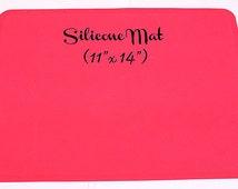 Silicone Mat - Shocking Pink