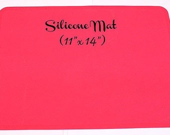Silicone Mat - Shocking Pink