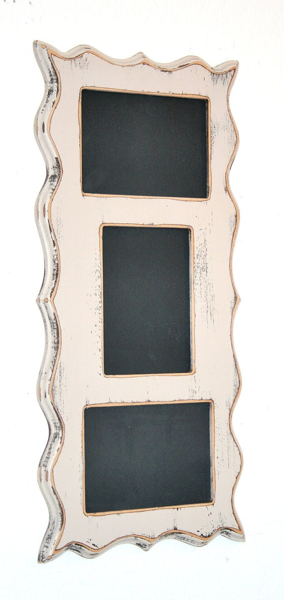 Collage Whimsical Picture Frame Multi Opening 3 4x6 Or 5x7