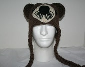 Custom listing for wenn1074 - Handmade otter hat - unique and fun crocheted hat - made in the USA