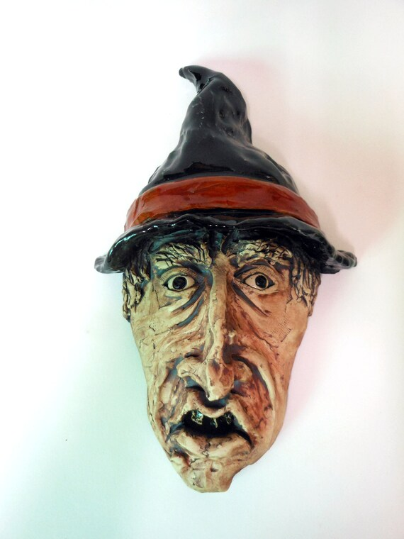 Wicked Witch Ceramic Mask