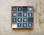 So Puzzling - Antique Time Puzzle - Antique Embossing Company Game - Black - New Years - Numbers - Clock