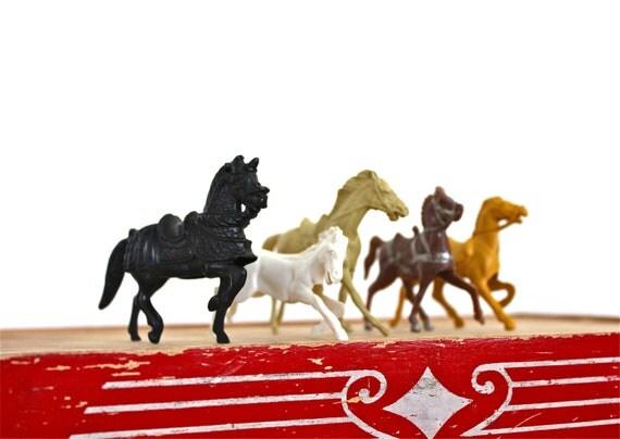 Ride 'Em - Vintage Horse Collection