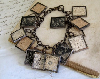 Treasured Vintage Lace Bracelet