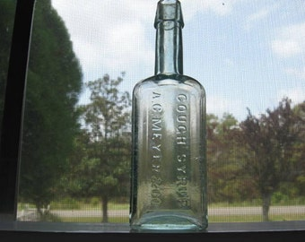 Dr. J.W. Bull's Cough Syrup A.C. Meyer & Co. Baltimore MD USA Antique Bottle