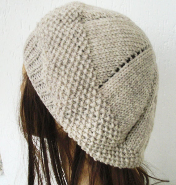 Womens Knit Hat Pattern : Instantdownload Knit hat pattern Digital Hat Knitting by Ebruk