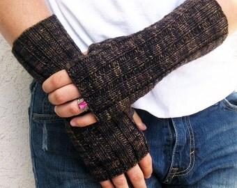 Men's Outlander Jamie Fingerless Gloves, Wrist Warmers, Superwash Wool, Made to Order, 8 Colors
