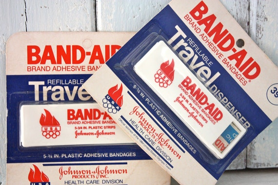 BAND-AID 1984 Olympics Travel Packs (2)