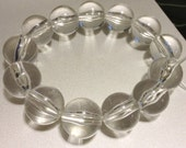 Custom Order For Radibob - Clear Round Lucite Bracelet