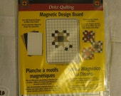 Last One * Great Gift Great Price! Compare * Quilters - Quilt Pattern Quilting Supply Tool Magnetic Templates Design Board by Dritz