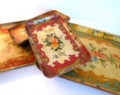 Papier Mache Trays (4)
