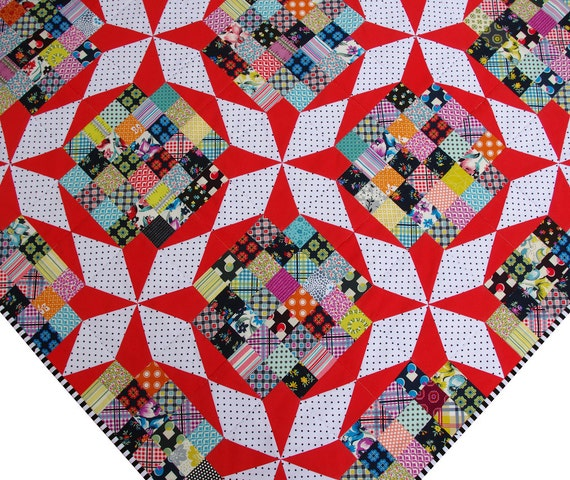 Reproduction Vintage Star Quilt