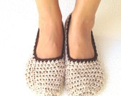Womens Slippers, Crochet Slippers, Wool Slippers, Bridal Shoes