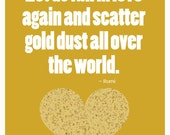 Digital Download - Let's Scatter Gold Dust All Over The World
