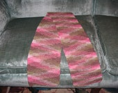 Pinky Camo Knitted Scarf