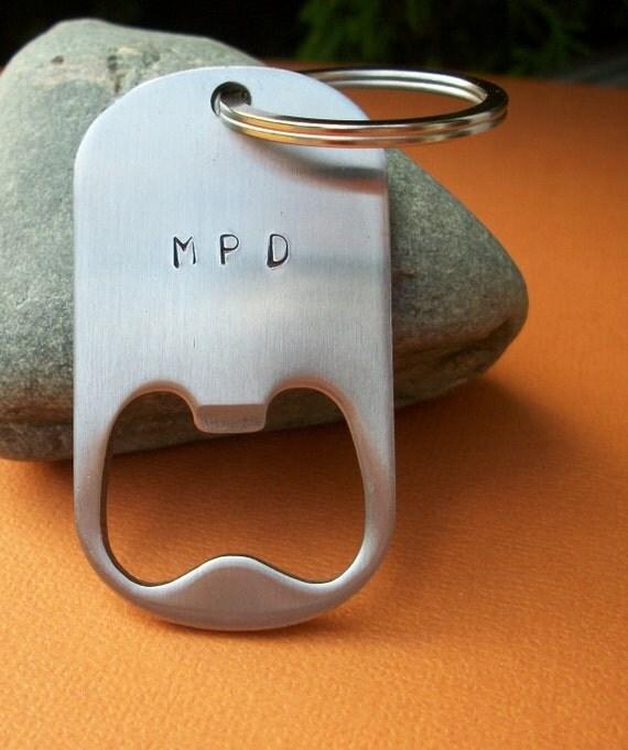 groomsman gift personalized bottle opener keychain. Black Bedroom Furniture Sets. Home Design Ideas
